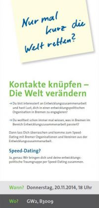Speed dating bremen 2014